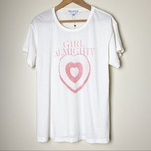 Wildfox Girl Almighty Manchester T Shirt